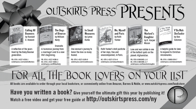 Outskirts Press New York Times Co-op Ad 2010