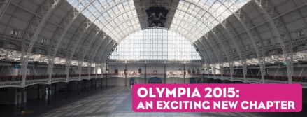 London Book Fair in Olympia, West London