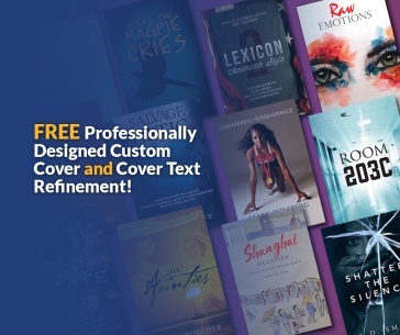 Free Custom Cover Design AND Cover Text Refinement When You